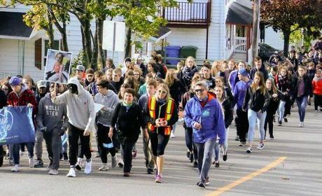 Organiser une marche dans une école