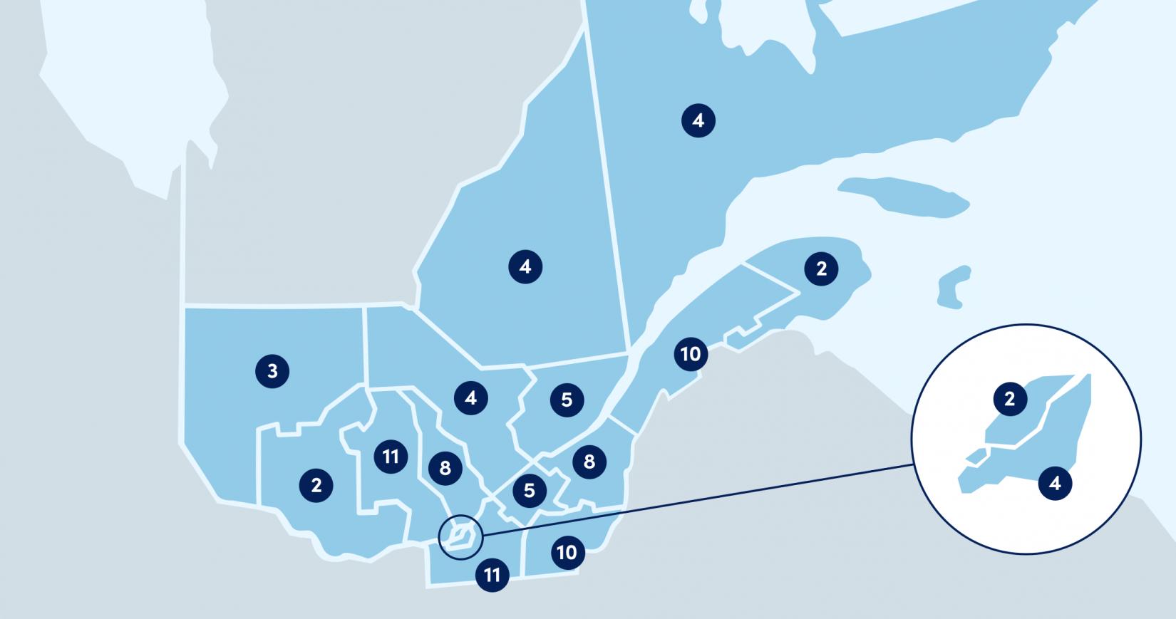 Le programme Chaîne de vie est enseignés dans près d'une centaine d'écoles au Québec